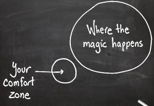 Your comfort zone...